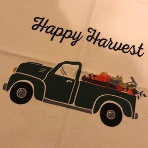 Thirty One Pillow Cover Fall Truck Happy Harvest